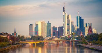 Frankfurt at morning