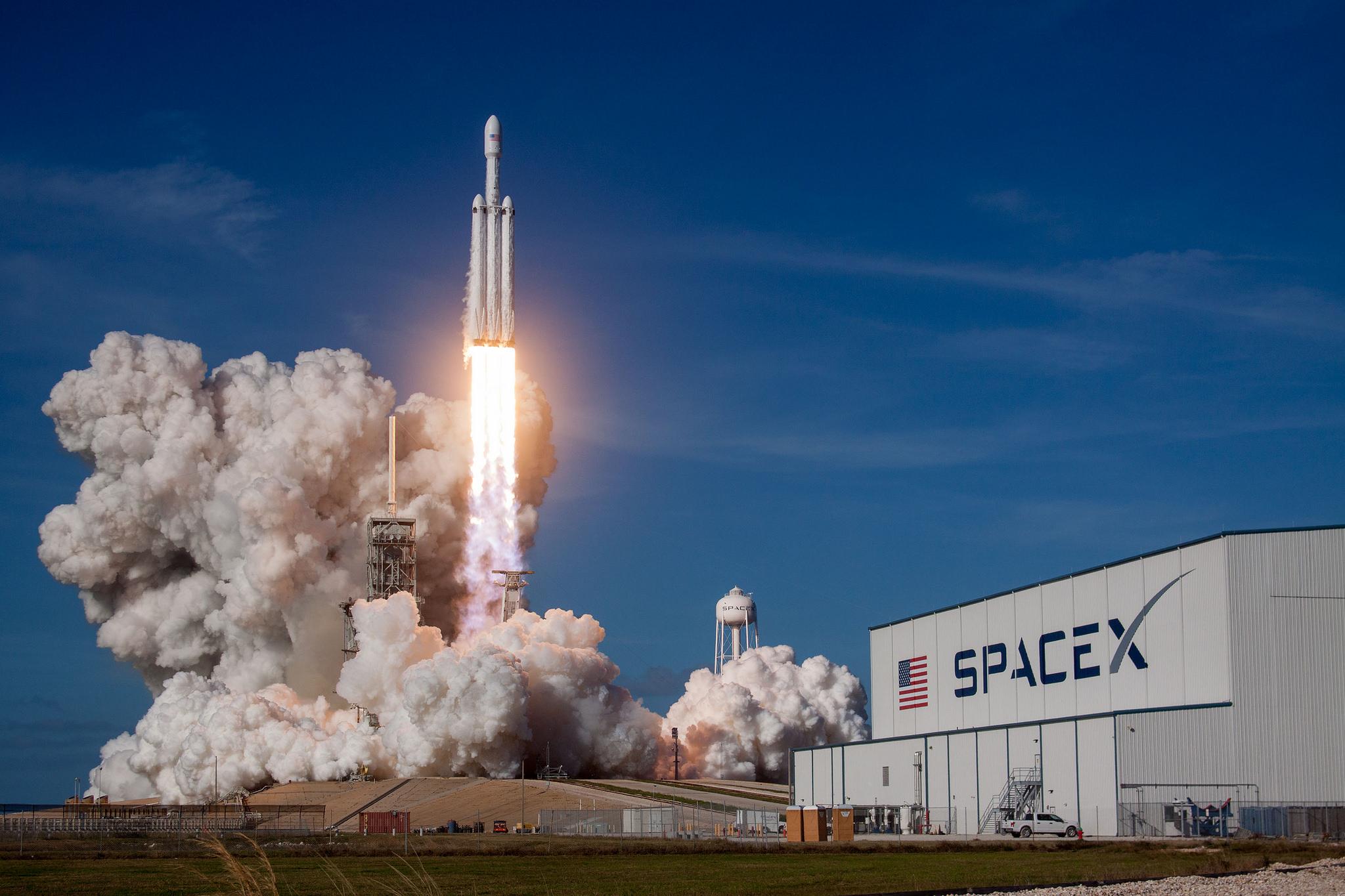 Wie Elon Musk einen Raketen-Testflug zum PR-Spektakel macht